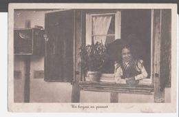 Un Bonjour Au Passant. De Jules Emile Villaret Soldat à Sa Fille Jacqueline Marie Jeanne à Béziers. C. A. P. Paris 15°. - Costumi