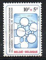 BELGIQUE. N°2004 De 1981 Oblitéré. Congrès De Radiologie. - Medicina
