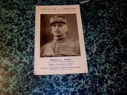 Vieux Papier Militaria 1914/1918 Emprunt De La Libération Maréchal Foch Les Vainqueur De La Marne Année ? - 1914-18