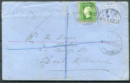 1906 Australia, New South Wales Registered Cover Condobolin - Melbourne - 1850-1906 New South Wales
