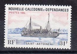 Nouvelle Calédonie-Navire ''Saint-Antoine- N°yvert 485** - Nueva Caledonia