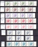 Belgique 1972, Baudoin Type Elström,  N° Planche Complet - 1970-1980 Elström