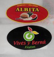 LOT DE ETIQUETTES DE FRUITS   - SPAIN - Fruits & Vegetables