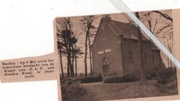 OOSTMALLE..1937.. EEUWFEEST HERDACHT VAN DE KAPEL O.L.V. VAN GOEDEN RAAD - Vieux Papiers