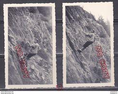 Au Plus Rapide Chamonix Mont Blanc Les Gaillands Escalade 31 Août 1960 Beau Format Très Bon état - Lieux