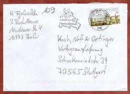 Brief, Universitaet Leipzig Sk, MS Berlin Briefzentrum 10, Nach Stuttgart 11.11. 2011 (95730) - [7] Federal Republic