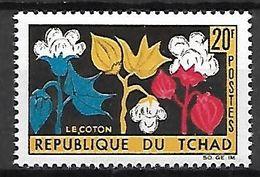TC H A  D   -    1964.     Y&T N° 99 **  .    Le Coton - Tschad (1960-...)