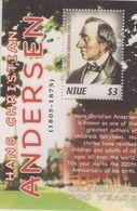 Niue 2005 Hans Christian Andersen Dichter Poet Writer Märchen Fairy Tales (HOV 5030) - Niue