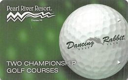 Pearl River Resort Casino - Choctaw, MS - Hotel Room Key Card - Hotel Keycards