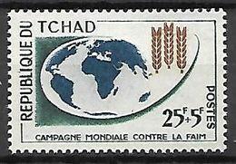 TC H A  D   -    1963.    Y&T N° 83**.   Contre La Faim - Tschad (1960-...)
