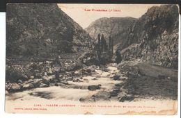 Vallée D'Andorre. Cascade Du Valida. à Jules Carol, Prisonnier De Guerre, Interné à Montana Palace Hôtel En Suisse. - Andorra