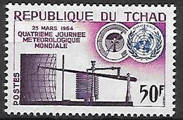 TCHAD.    1964 .   Y&T N° 98  **.   Météorologie - Tschad (1960-...)