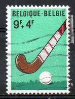BELGIQUE. N°1548 De 1970 Oblitéré. Hockey Sur Gazon. - Rasenhockey