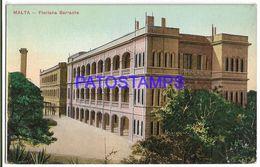 137525 MALTA FLORIANA BARRAKS BUILDING POSTAL POSTCARD - Malta