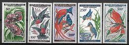 TCHAD   -    Aéros   -  Y&T N°  2 à 6 **.     Oiseaux  /  Birds  /  Vogels.   Série Complète. - Tschad (1960-...)