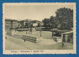 BOLOGNA - MONUMENTO ALL' 8 AGOSTO 1848 - ANIMATA - Nuova, Non Viaggiata - In Buone Condizioni. - Bologna