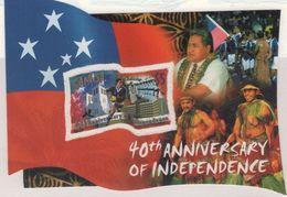 Samoa 2002 40 Jahre Unabhängigkeit Independence (HOV 5032) - Samoa