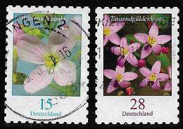 2018  Blumenserie (15 + 28 Cent)  Selbstklebend - [7] République Fédérale
