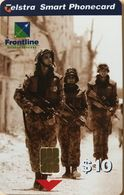 AUSTRALIE  -  Phonecard  -  Telstra  -  Frontline Lance Corporal Darryl Lowrey -  $ 10 - Australia
