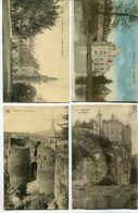 CPA - 4 Cartes Postales - Belgique - Château De Walzin - Laroche - Saint Hubert - Flostoy  (I13044) - Castillos