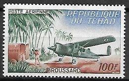 TCHAD  -   Aéro   -   Y&T N° 12 **.   Avion  Broussard. - Tschad (1960-...)