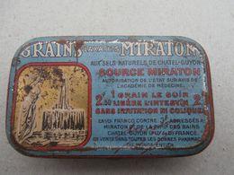 Grains Miraton- Chatel-Guyon - France - Old Metal Box - Boîte Metal - Medical & Dental Equipment