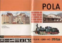 Catalogue POLA 1971 Spur N 1/160 Quick HO 1/87  Pola Maxi - En Allemand, Anglais, Français Et Italien - Libros Y Revistas