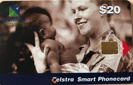 AUSTRALIE  -  Phonecard  -  Telstra  -  Frontline Corporal Kristen Taylor  -  $ 20 - Australië