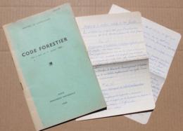 Code Forestier (mis à Jour Au 1er Janvier 1960) - Autres