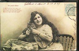 Cpa - BERGERET - Le Petit Chat - J'aime Beaucoup Mon Petit Chat ...- 1905 - Bergeret