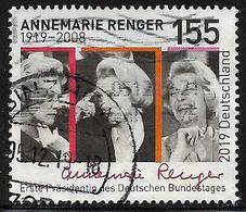 2019  100. Geburtstag Von Annemarie Renger - [7] République Fédérale