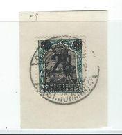 Timbre SARRE N° 50    Bloc Avec Surcharge - 1920-35 Sociedad De Naciones