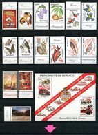 MONACO Année 2002 ** Complète N° 2319/2381 Bloc 88 Neufs MNH Luxe C 213,50 € Jahrgang Ano Completo Full Year - Full Years