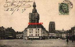 Béthune - Vue Générale De La Grand'Place - 1907 - Bethune