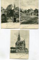 CPA - 3 Cartes Postales - Belgique - Rochefort - Hôtel De Ville - Le Pont - L'Entrée Du Tunnel - 1903 (I13046) - Rochefort