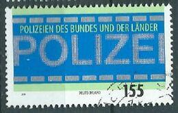 ALLEMAGNE ALEMANIA GERMANY DEUTSCHLAND BUND 2019 TRIBUTE TO FEDERAL AND STATE POLICE USED MI 3480 YT 3264 - [7] République Fédérale