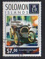 SOLOMON ISLANDS. 2014. CARS. RENAULT VOITURETTE TYPE A. CANCELLED (6R1746) - Autos