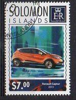 SOLOMON ISLANDS. 2014. CARS. RENAULT CAPTUR. CANCELLED (6R1747) - Autos