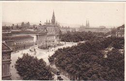 AK Wien - Franzensring Mit Parlament, Rathaus, Universität Und Burgtheater - Ca. 1920  (51190) - Ringstrasse
