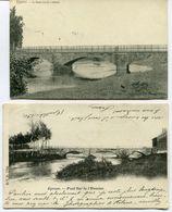 CPA - 2 Cartes Postales - Belgique - Eprave - Le Pont Sur La Lomme ( L'Homme ) (I13047) - Rochefort