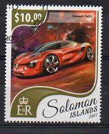 SOLOMON ISLANDS. 2017. CARS. RENAULT DEZIR. CANCELLED (6R1751) - Autos