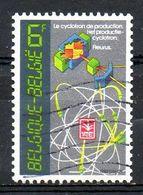 BELGIQUE. N°2036 Oblitéré De 1982. Institut National Des Radioéléments De Fleurus. - Química