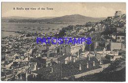 137557 GIBRALTAR A BIRD'S EYE VIEW OF THE TOWN POSTAL POSTCARD - Gibraltar