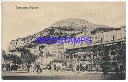 137558 GIBRALTAR CASEMATES SQUARE POSTAL POSTCARD - Gibraltar
