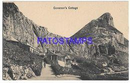 137559 GIBRALTAR GOVERNOR'S COTTAGE POSTAL POSTCARD - Gibraltar