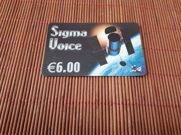 Prepaidcard Belgium Sigma Voice (Mint,Neuve) Rare 2 Scans - Belgique