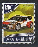 MALDIVES. 2014. CARS. CITROEN DS3 WRC. CANCELLED (6R1772) - Cars