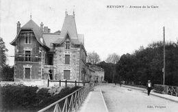 CP 55 Meuse Revigny Avenue De La Gare Edit Pérignon - Revigny Sur Ornain