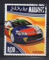 MALDIVES. 2014. CARS. CITROEN C4 WRC. CANCELLED (6R1773) - Cars