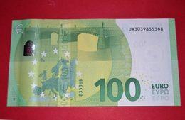 FRANCE 100 EURO - U002D1 Série Europa - Serial Number: UA3039835368 - UNC NEUF - EURO
